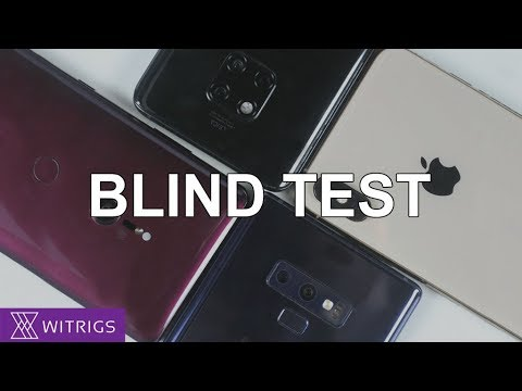 Camera Blind Test | Sony Xperia XZ3 & Samsung Galaxy Note 9 & iPhone Xs Max & Huawei Mate 20 Pro