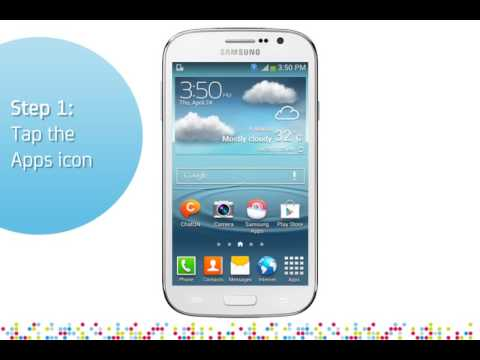 Samsung Galaxy Grand Neo: Turn on/off data services