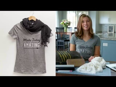 Cricut Explore Creating a Personalized T-Shirt with Lettering