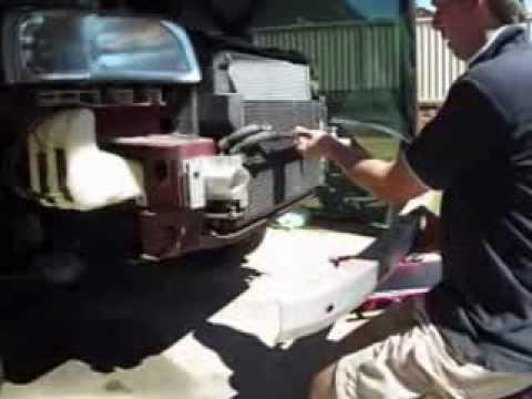 Radiator & Condenser removal Land Rover Freelander 2.5 V6 01-05. Also covers front bumper removal.