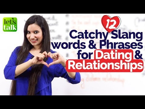 Slang English words and Expressions - ❤️ Dating and Relationships - English Speaking Practice Lesson