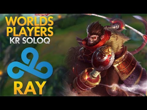 CLOUD9 RAY - Wukong Top Lane