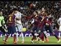 El Clasico Real Madrid Vs Barcelona Fights Fouls Red Cards