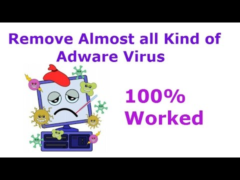 Remove Almost all Kind of Adware Virus from your PC and Browsers (100% Worked)