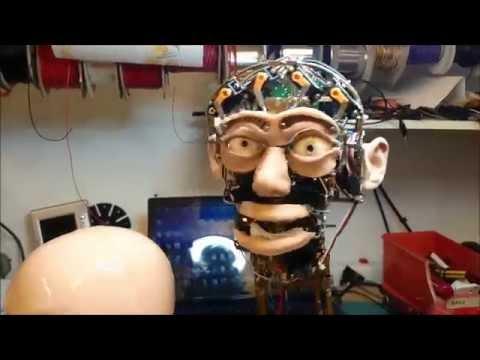 ROBOT HEAD  - New Humanoid Ears for Binaural 3D audio