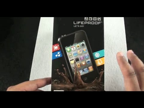 LifeProof 1st Generation Case for iPhone 4, Review, Preparation, Installation, and Water Test!