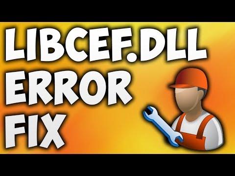 How To Fix Libcef.dll Error - Solve libcef.dll Is Missing Error [100% WORKING]