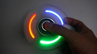 Cómo hacer una Hand Spinner con luz LED