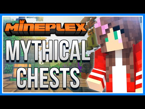 Minecraft Mineplex Monthly Mythical Treasure Chest (x7) Opening! | July 2016