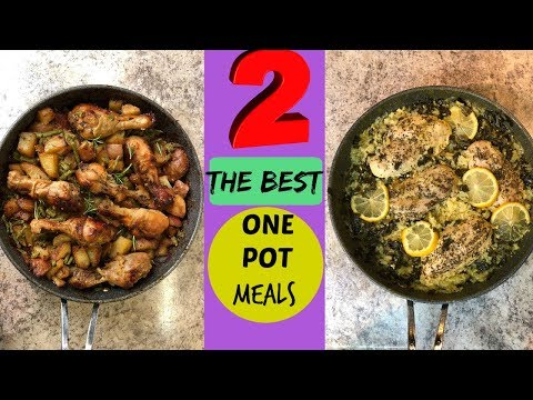 EASY One Pot Chicken Recipes | Cook With Me 2018