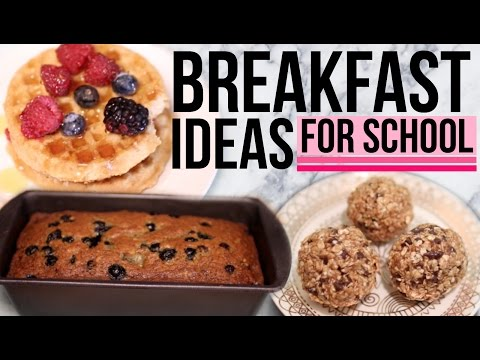 DIY Breakfast Ideas for School!! Easy & Quick