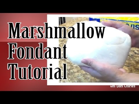 THE BEST Marshmallow Fondant Tutorial