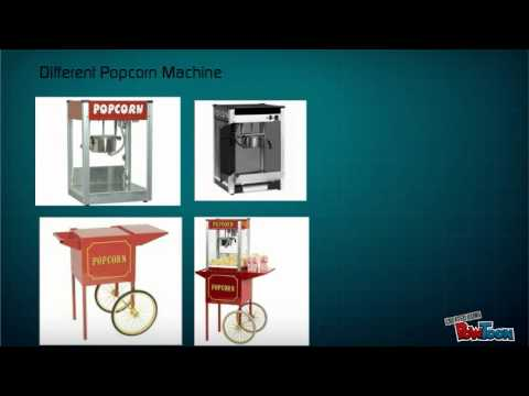 How to Purchase the Right Popcorn Machine