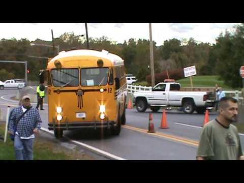 Hershey Antique Automobile Show 2009 Crown school bus