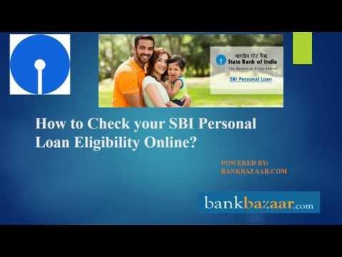 SBI Personal loan Eligibility