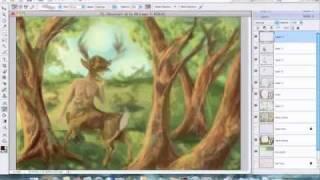 Deerling (deertaur) Speed Paint