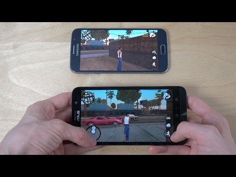 Why Samsung Galaxy S6 Is a Really Bad Phone vs. ASUS ZenFone 2 4GB RAM In Extreme Gaming!
