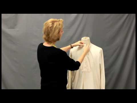 Victorian Shirt: Folkwear Pattern # 202 Pt. 2.  Choose the correct size pattern