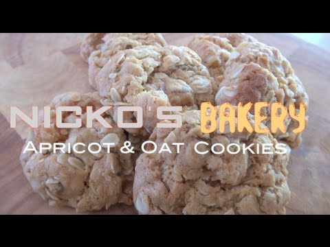 APRICOT & OAT COOKIES - Nicko's Bakery