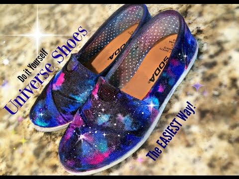 Universe shoes - A Galaxy on your Feet!