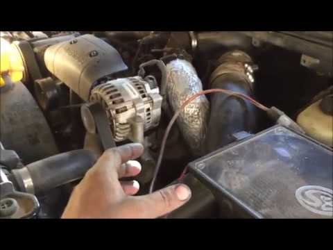 power steering pump remove and replace 1990 to 2000 ford f-250