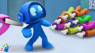 Tiny Hides His Impostor Form Among Us - Stop Motion Animation Short Film