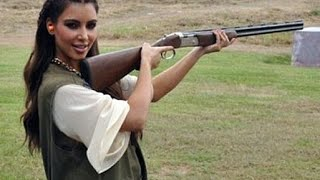 9 Celebrities Who Love Guns