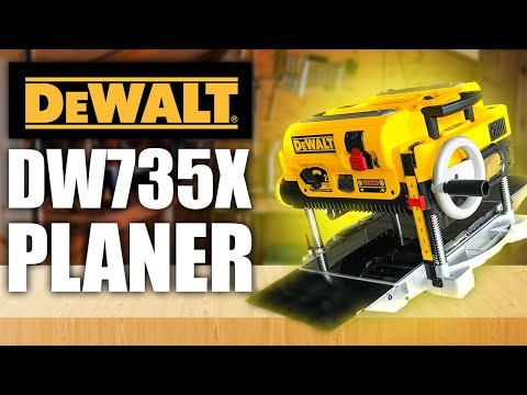 DeWalt DW735x Planer Unboxing and Review