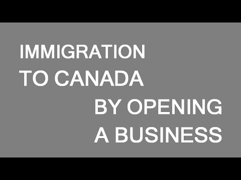 Immigration to Canada via business formation