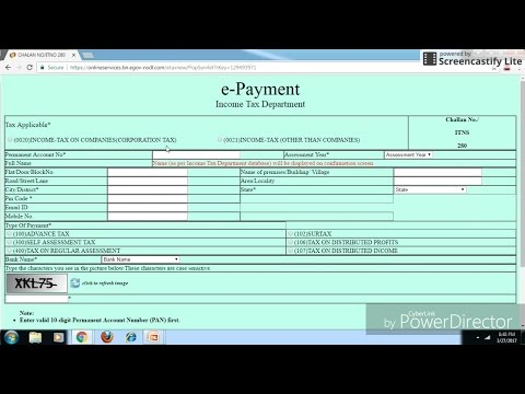 How to Pay Income Tax, Advance Tax, Self Assessment Tax Online ?