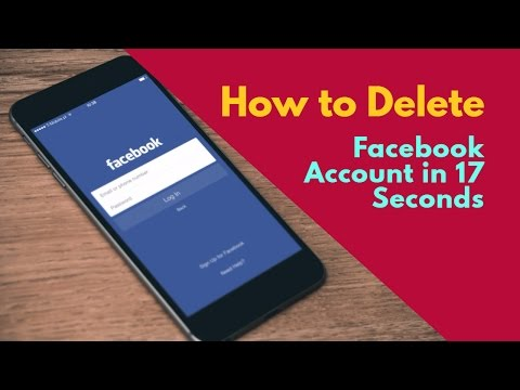 How to Completely Delete Facebook Account Step by Step (Video)