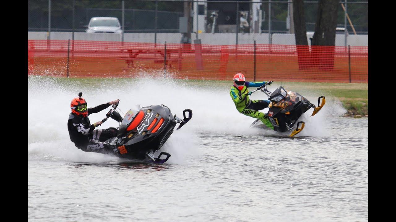 Snowmobile Watercross Wet N Wild weekend 2020