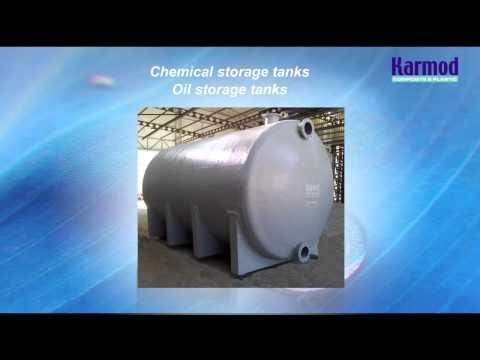 Fiberglass Water Tanks, GRP   Karmod Plastic