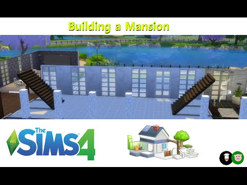 Sims 4 - Building a Mansion (part 5)
