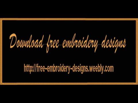 تحميل رشمات الطرز dst مجانية | download free embroidery design dst