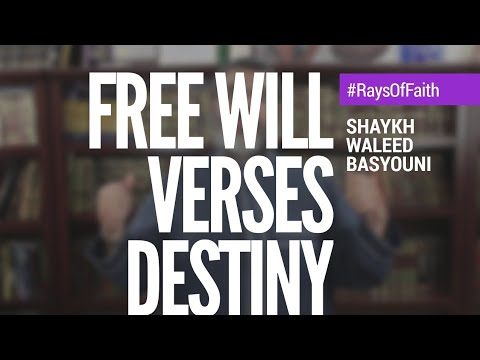 How do I have free will if my destiny is already written? | Rays of Faith | Waleed Basyouni