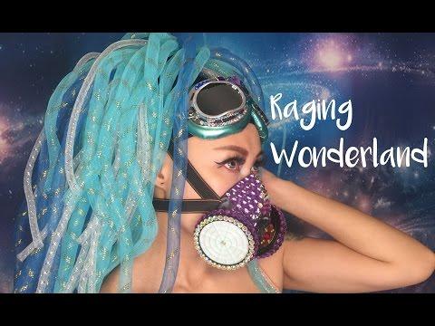 DIY cyberlox cyberfalls horsehair braid cyberpunk turquoise crin