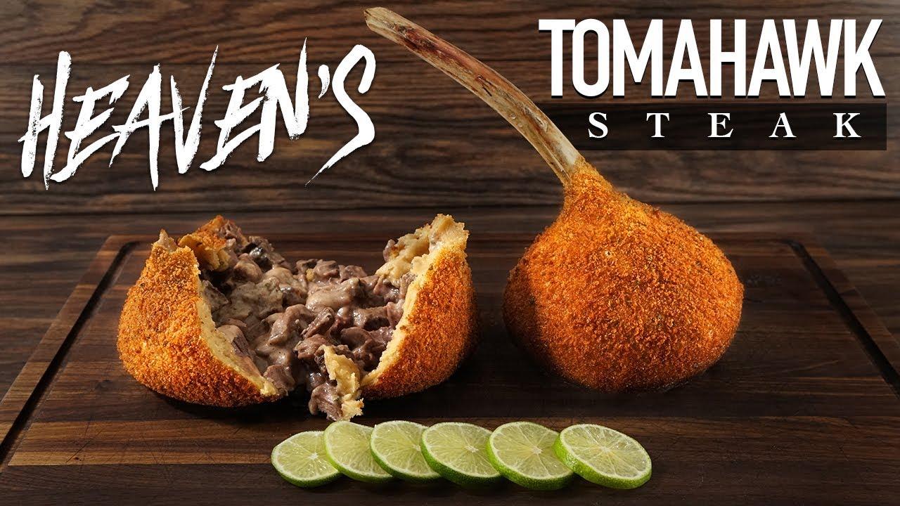 Best TOMAHAWK Steak RECIPE I ever made! | GugaFoods