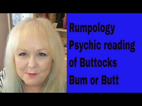 How to do Rumpology (Divination/Psychic Reading with Buttocks/Bum/Butt) | Colette Clairvoyant