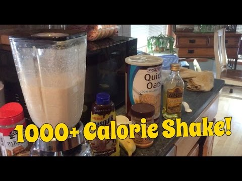 Easy 1000 Calorie Protein Shake