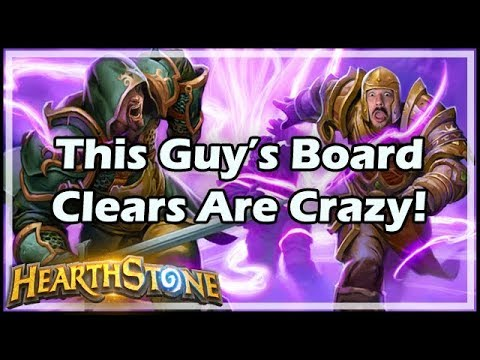 [Hearthstone] This Guy's Board Clears Are Crazy!