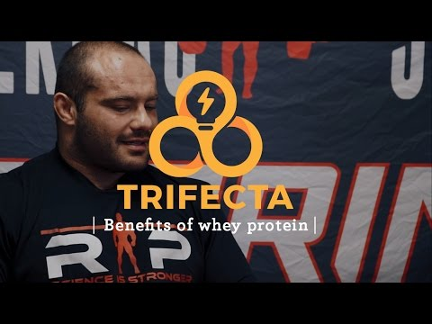 The benefits of whey protein with Dr. Mike Israetel - Trifecta Tips