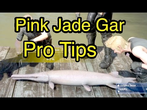 Final Fantasy XV: Pink Jade Gar - Pro Tips