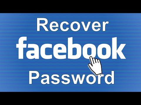 Recover Facebook Password | How to Reset your Facebook Password | Retrieve Facebook Password 2019