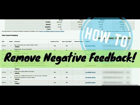 Amazon FBA Tips: How To Remove Negative Feedback!