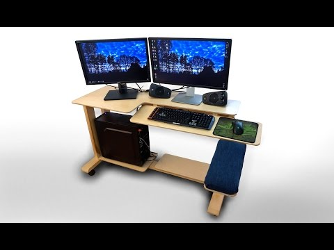 How To Make Computer Desk