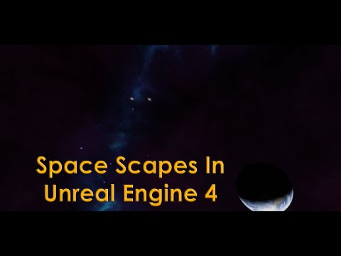 Unreal Engine 4 Tutorial - Custom Star Scape / Space Scape