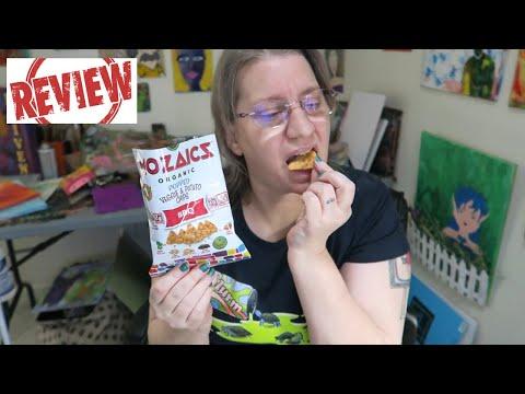 Mozaics Organic Popped Veggie and Potato Chips BBQ