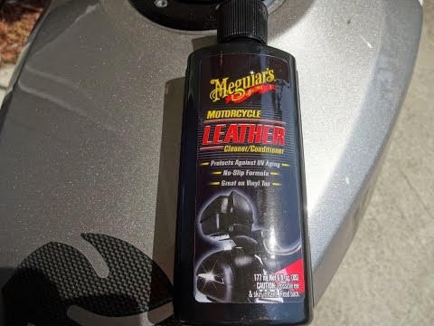 Meguiar's Motorcycle Leather Cleaner and Conditioner Review and Test Results on my Ninja 250