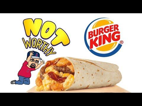 Burger King EGGNORMOUS burrito review
